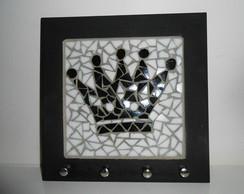 Mosaico Coroa - Porta chaves