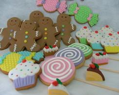 Biscoitos Decorados - Mundo dos doces