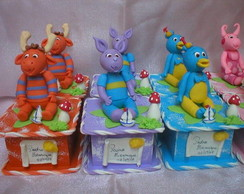 Caixas Backyardigans