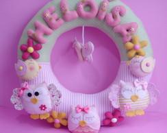 Porta Maternidade - Guirlanda