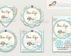Kit Tags - Etiquetas Com Design Mod81