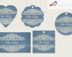 Kit Tags - Etiquetas Com Design Mod96
