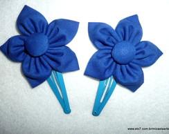 Par De Flores Azul