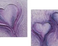 Conjunto De Quadros Abstrato - (30 X 30)