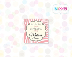 Save The Date Magn�tico 5x5cm