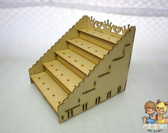 Piruliteiro tipo Escada - Tema Princesa