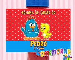 R�tulo Bolinha De Sab�o