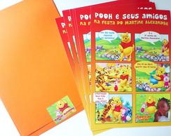 Convites Ursinho Pooh Gibi