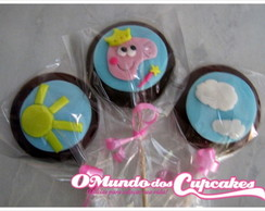 Pirulitos Chocolate Peppa Pig