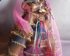 Boneca Cigana das 7 saias
