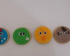 Biscoitos Decorados Galinha Pintadinha