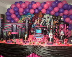 Aluguel Decora��o Monster High
