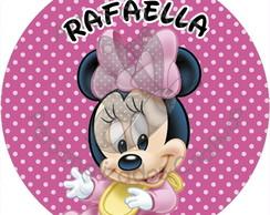 Baby Disney Minnie R�tulo Adesivo