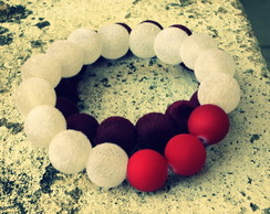 Pulseira Red White