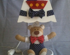 kit higiene urso marinheiro
