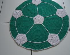 tapete bola  palmeiras de croch�.