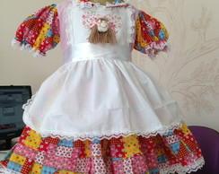 Vestido Caipira Avental BABY