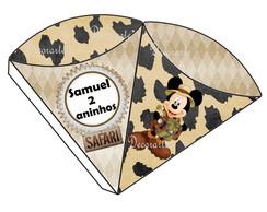 Cone Mickey Safari 2 Lados