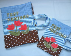 Kit escolar Patchwork