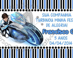 Max Steel Turbo Force Tag
