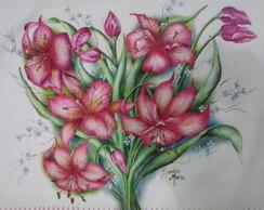 Pintura em Tecido - Pano de Prato