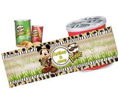 R�tulo Batata Pringles Mickey Safari