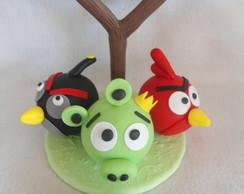 Topo de BoloAngry Birds