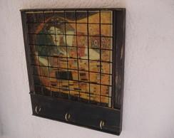 "Porta Chaves - ""o Beijo"" - Gustav Klimt"