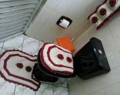 Jogo  Banheiro Croch�