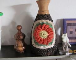 Vaso em mosaico de caf�
