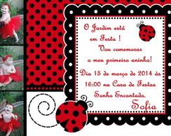 Convite Digital Joaninha