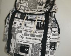 bolsa-mochila jornal (DISPONIVEL)