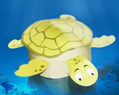 Caixa Tartaruga Personalizada Para Doces