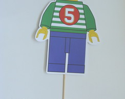 Super Topper No Palito - Personagem