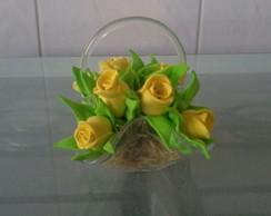 Mini Arranjo de Flores - Rosas