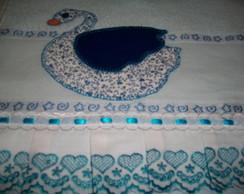 Toalha Banho Infantil c/ Patch Aplique