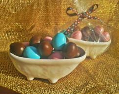 Mini Ovos na Banheira