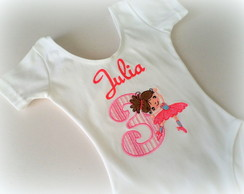 Body, camiseta ou collant - Bailarina