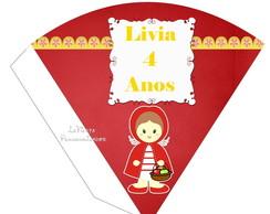 Cone Redondo Chap�uzinho Vermelho