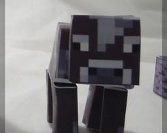 Boneco VACA Minecraft (de papel)