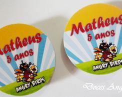 R�tulos Angry Birds