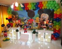 Mesa tem�tica proven�al casa do Mickey