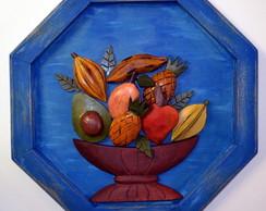 Quadro Frutas - pronta entrega
