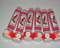 Tubetes personalizados Minnie