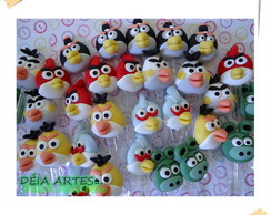 COLHERES ANGRY BIRDS