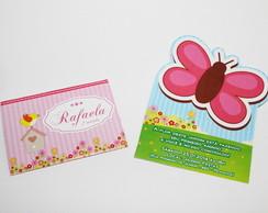 Convite Borboleta - Jardim