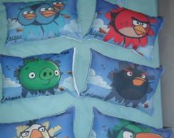 Almofada personalizada 30x20 Angry birds