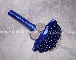 Buqu� P�rolas Azul Royal