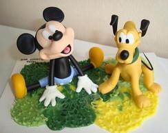 Topo do Mickey e Pluto