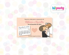 Save The Date Magn�tico 9x5cm Tema: Noiv